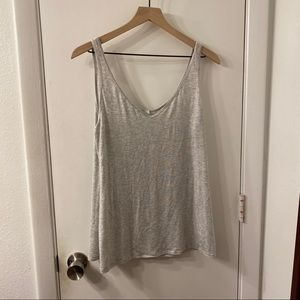 Old Navy Soft Grey Tank Top